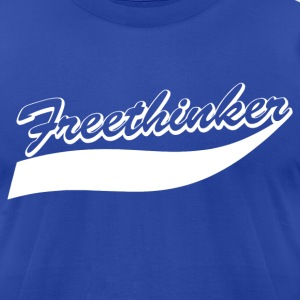 Freethinker tee - Men's T-Shirt by American Apparel