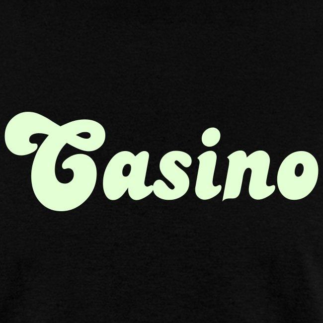 Glow in the Dark Casino T Shirt.