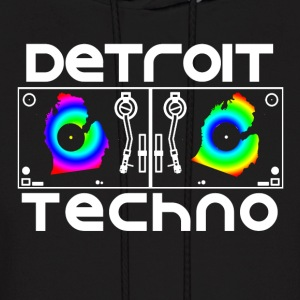 Detroit Turntables Hoodies - Men's Hoodie