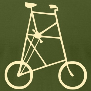 Tall Bike Men's T-shirt - Men's T-Shirt by American Apparel