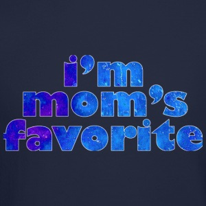 I'M MOM'S FAVORITE - blue Long Sleeve Shirts - Crewneck Sweatshirt