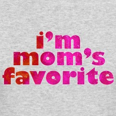 I'M MOM'S FAVORITE - pink Long Sleeve Shirts