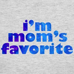 I'M MOM'S FAVORITE - blue Long Sleeve Shirts - Women's Long Sleeve Jersey T-Shirt