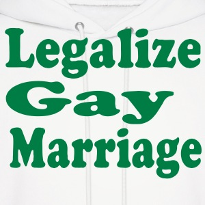 LEGALIZE GAY MARRIAGE Hoodies - Men's Hoodie