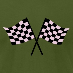 Race flags - Men's T-Shirt by American Apparel