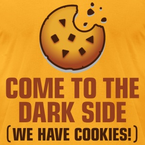 Come To The Darkside 1 (dd)++ T-Shirts - Men's T-Shirt by American Apparel