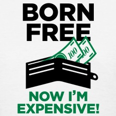 Born Free 2 (2c)++ Women's T-Shirts