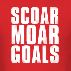 Design ~ Scoar Moar Goals Men's T-Shirt