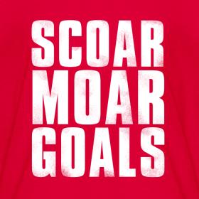 Design ~ Scoar Moar Goals Kid's T-Shirt
