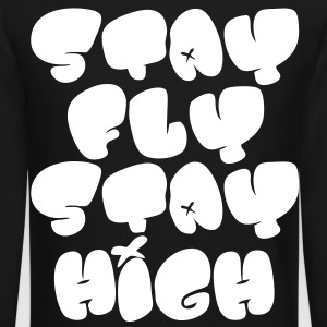 Stay Fly Stay High Long Sleeve Shirts - stayflyclothing.com - Crewneck Sweatshirt