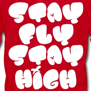 Stay Fly Stay High Zip Hoodies/Jackets - stayflyclothing.com - Unisex Fleece Zip Hoodie by American Apparel