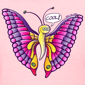 Coolorful Butterfly Women's T-Shirts - Women's T-Shirt