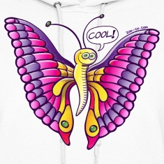 Coolorful Butterfly Hoodies
