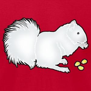 whitesquirrel_copy T-Shirts - Men's T-Shirt by American Apparel