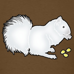 whitesquirrel_copy T-Shirts - Men's T-Shirt