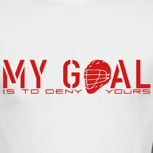 My Goal Is To Deny Yours (LAX) Long Sleeve Shirts - Men's Long Sleeve T-Shirt by Next Level