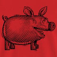 Design ~ Naked Pig T (front)
