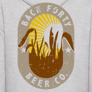 Design ~ Back Forty Beer Co. (front and back) Logo Hoodie