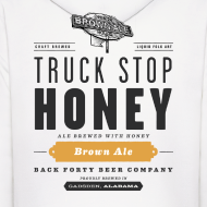 Design ~ BFBC Logo (front) Truck Stop Honey Logo (back) Hoodie