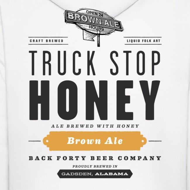 BFBC Logo (front) Truck Stop Honey Logo (back) Hoodie