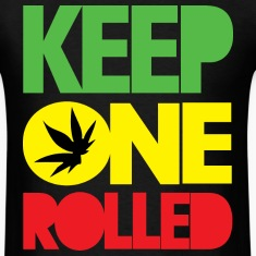KEEP ONE ROLLED