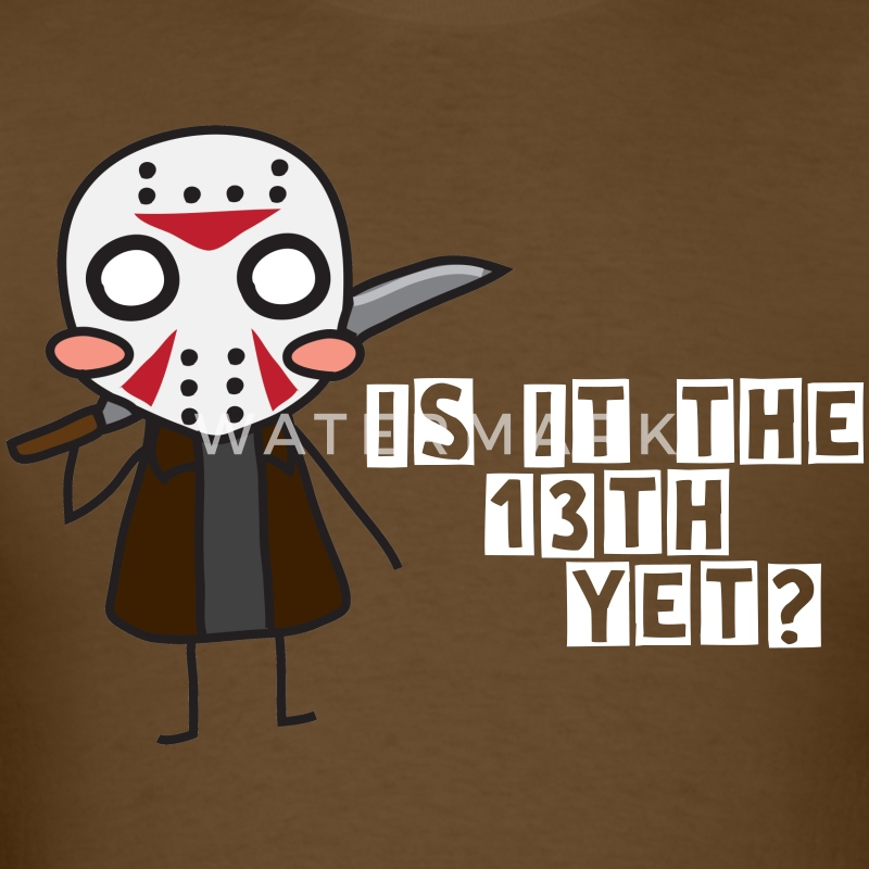 Jason Voorhees - Is It The 13th Yet? - Men's T-Shirt