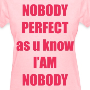 no_body Women's T-Shirts - Women's T-Shirt