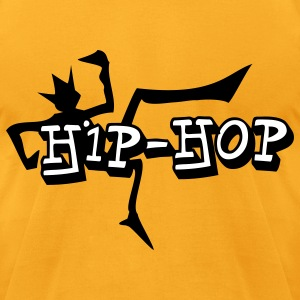 hip-hop - Men's T-Shirt by American Apparel
