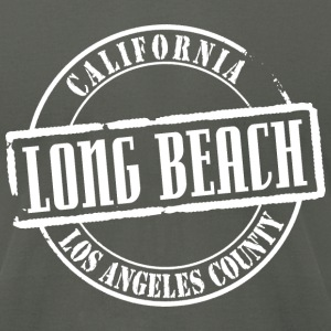 Long Beach Title B American Apparel T-Shirt - Men's T-Shirt by American Apparel