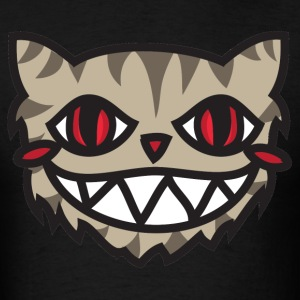 Gray Cheshire Cat - We're All Mad Here - Men's T-Shirt