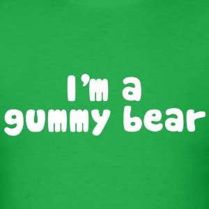 I'm A Gummy Bear Lyrics T-Shirts - Men's T-Shirt