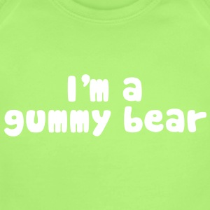 I'm A Gummy Bear Lyrics Baby Bodysuits - Baby Short Sleeve One Piece