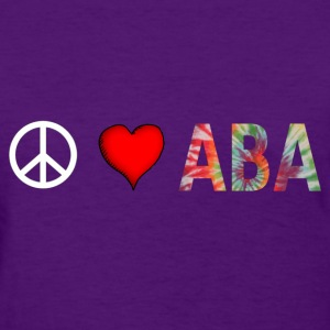 peaceloveaba3 Women's T-Shirts - Women's T-Shirt