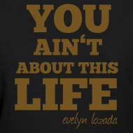 Design ~ You aint about this life