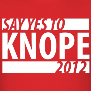 Say Yes To Knope 2012 T-Shirts - Men's T-Shirt