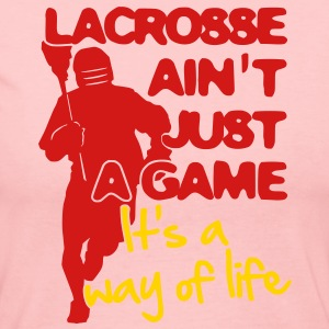 Lacrosse Ain't Just A Game Long Sleeve Shirts - Women's Long Sleeve Jersey T-Shirt