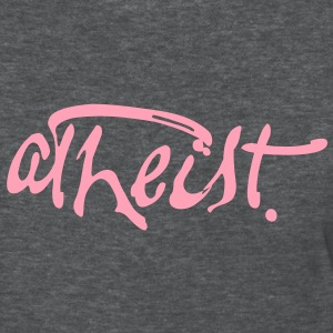 Atheist Paint Script by Tai's Tees - Women's T-Shirt