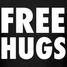 Free Hugs Design T-Shirts