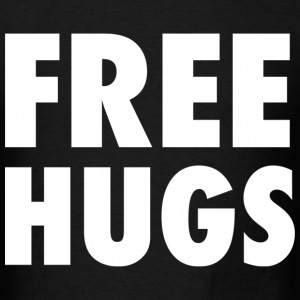 Free Hugs Design T-Shirts - Men's T-Shirt