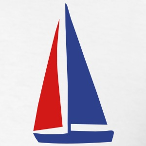 sailing men´s shirt - Men's T-Shirt