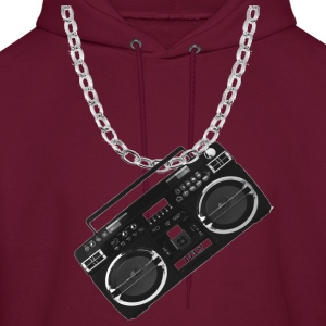 Chained Boombox - Men's Hoodie