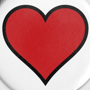 Heart Buttons - Large Buttons