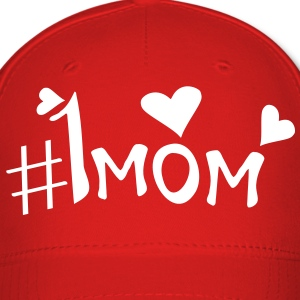 Number 1 MOM Baseball Cap - Baseball Cap