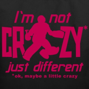 I'm Not Crazy (field hockey) Bags  - Eco-Friendly Cotton Tote