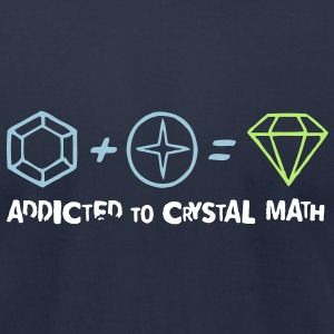 Crystal Math - Men's T-Shirt by American Apparel