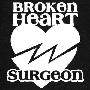 Broken heart surgeon funny design for anyone out of luck with Romance Long Sleeve Shirts - Women's Wideneck Sweatshirt