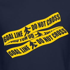 Goal Line Do Not Cross (field hockey) Long Sleeve Shirts