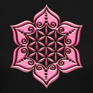 Flower of life, Lotus - Flower, pink, Symbol of perfection and balance Long Sleeve Shirts - Women's Long Sleeve Jersey T-Shirt