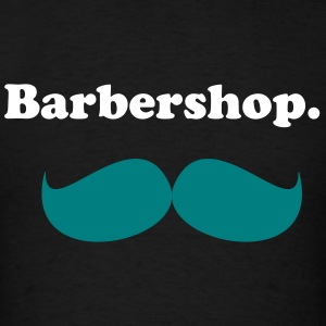 Barber's Mustache T-Shirts - Men's T-Shirt