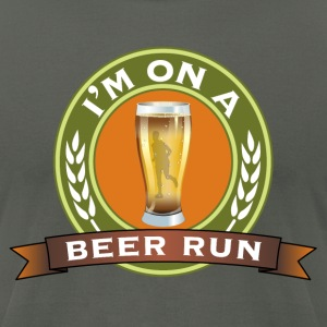I'm on a beer run - Men's T-Shirt by American Apparel